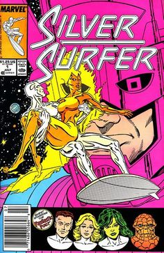 New series - new destiny! Galactus allows former herald Silver Surfer to ride the cosmic waves after saving current assistant Nova from Skrull entrapment.