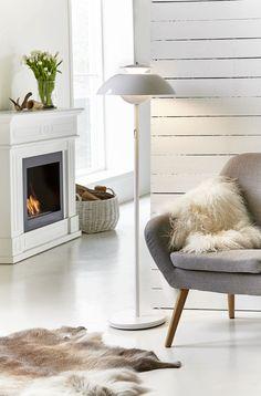 Stehlampe ELEVATE weiß skandinavisch kaufen | Lampenshop Lumizil
