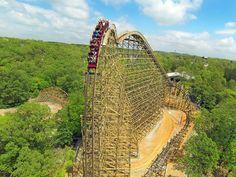 Outlaw Run, roller coaster, Silver Dollar City, Branson, Missouri