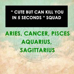 tee-hee *makes the scariest chara smile* #AquariusSquad