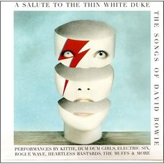 David Bowie A Salute To The Thin White Duke - The Songs Of David Bowie - Various Artists on Limited Edition LP