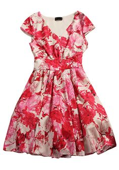 Vestido estampado flores-EUR€46.51