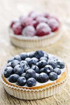 Delicious Gluten Free Berry Tartlets