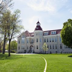 Carroll University's oldest and most recognizable building. Originally built in 1852,  the first Main Hall was destroyed by fire in 1885. The second building opened in January of 1887.  Main hall now holds classrooms and the Paddock Bliss Gallery, built in 2013.