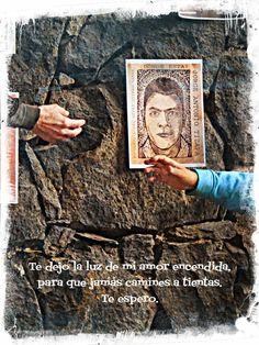 SE BUSCAN.- Montaje por los 43 desaparecidos -y más- de Ayotzinapa en la Ermita-Ajusco de Albergues de México I.A.P. Julio de 2015