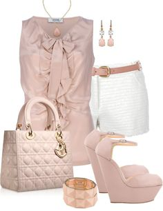 """Chic Wedge"" by corenna-obrien ❤ liked on Polyvore"