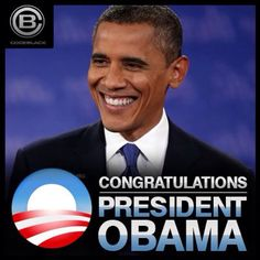 #President Of The United States #BarackObama Wins 1st & 2nd Term Presidency Election 11/208-11/2012