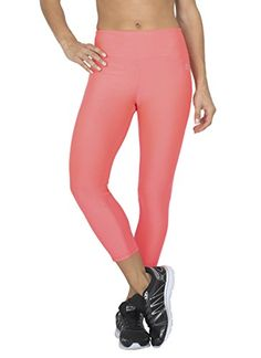 RBX Active womens Body Contouring High Waisted Crop Capri Compression Leggings,Pink Rose,Large. A solid pattern for a solid fitness routine. Seasonal heathered pattern for a timelessly fashionable look and feel. Stretch jersey fabric allows for a full range of motion and natural feel to stay focused on your workout. Compression fit for a locked-in feel. Mesh inserts designed for enhanced ventilation.