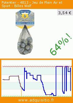 Potentier - 4813 - Jeu de Plein Air et Sport - Billes Wolf (Jouet). Réduction de 64%! Prix actuel 3,54 €, l'ancien prix était de 9,90 €. https://www.adquisitio.fr/potentier/4813-jeu-plein-air-sport