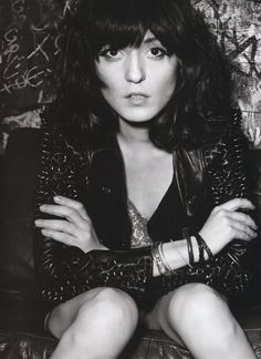 Irina Lazareanu. Shelley, Queenie, if you're following my pins, why haven't you told me your going by Irina now! Wow! This photo made me do a double take!