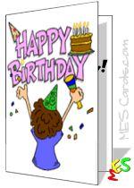 DIY Printable Cards Birthday Card Maker To Print Free