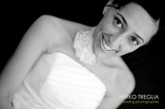 The Bride: happy and excited!