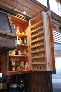 door mounted shelves