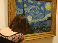 """Vincent van Gogh's """"Starry Night"""" at the Museum of Modern Art, New York"""