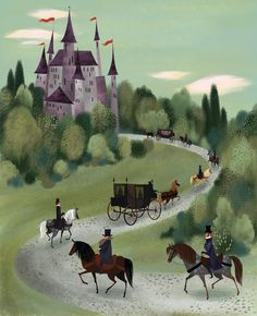 "From ""Twelve Dancing Princesses"" by Brigette Barrager."