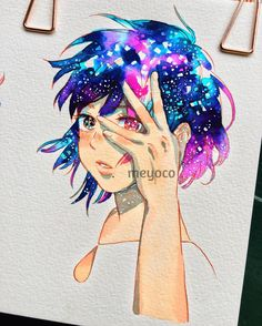"""14.8k Likes, 27 Comments - meyoコ (@meyoco) on Instagram: """"Distant stars  (art tools info: @pearlescentpink)"""""""