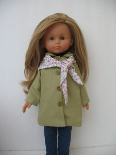Corolle Les Cheries Doll Coat  with Triangle by PachomDollBoutique, $18.99