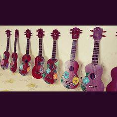 Ukulele for Kids ! #craftforkids #poscagallery #summer #picoftheday #artoftheday #fun #ocean #beach #posca #music#ukulele