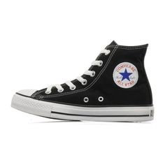 CONVERSE Chuck Taylor All Star Hi W ❤ liked on Polyvore featuring shoes, sneakers, star shoes, converse trainers, converse footwear, star sneakers and converse shoes