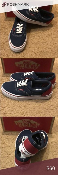 6bdf29f28c99 Era Heel Pop Vans New in box. Dress blues Tibetan red Vans Shoes Sneakers