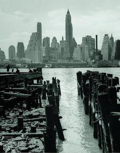 Lower Manhattan, Seen from Brooklyn, New York, New York Pictures, New York Photos, Old Photos, Vintage Photos, New York Architecture, Architecture Images, Lower Manhattan, Brooklyn Heights, Brooklyn Bridge