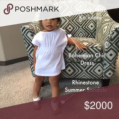 Yay my grandma is Co-Hosting her 1st Posh Party I'm super excited to be Co-Hosting my very first Posh party on July 10th at 12pm. I don't know the theme yet, in the mean time I'll be browsing. And yes that's my beautiful 1-1/2 year old grand daughter model Miss Ka'iulani. She's showing off her bohemian chic look. Special closet deals to come the day of the party!! Lizzy & Jane Co Jewelry