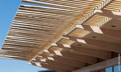 Feathering <3 trellis detail by renzo piano