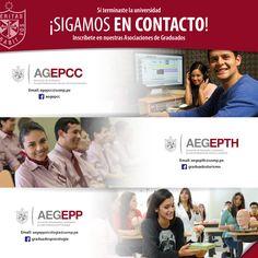 #EgresadosFCCTP | No pierdas el contacto con nuestra Facultad. Regístrate en nuestras Asociaciones de Egresados y participa en los diversos eventos académicos.
