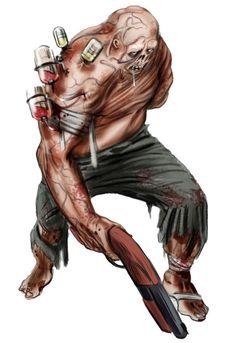 BioShock Art & Pictures,  Biological Enemy 2