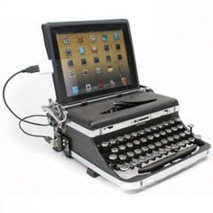 USB Typewriter, teclado retro para iPad