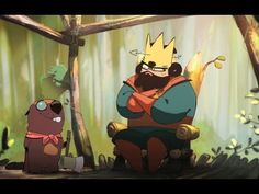 When a king challenges a beaver with a royal construction project of epic heights, he faces unimaginable consequences. A film by Nuno Alves Rodrigues, Oussam. Game Character, Character Design, Animation Library, Le Castor, Shadow King, Walt Disney Characters, Disney Instagram, Believe In Magic, Mickey Mouse