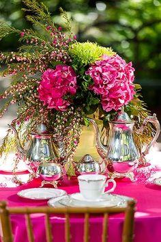 Pink Fun With Tea Time