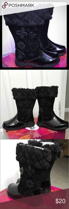 Girls boots size 9 M New with tags and box will ship same day or next. Rachel Shoes Shoes Boots