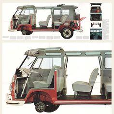 1965, 1966 Volkswagen Type 2 Trucks Brochure | OldBrochures.com
