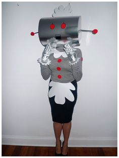 Rosie the Robot from The Jetsons Costume | Theme Me: Costume, Fancy Dress & Theme Inspiration