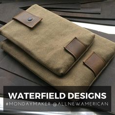 WaterField Designs is All New American's MONDAY MAKER | Honored | http://www.sfbags.com