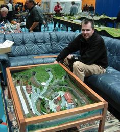 Coffee Table Z Scale Train Sets 3