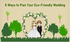 """Are you an Eco-concious couple? Discover these great tips to say """"I Do"""" to an Eco-Friendly Wedding and show the reflection of your Eco-conscious nature. Wedding Planning Guide, Wedding Planner, Green Theme, Green Wedding, Wedding Trends, Weddingideas, Eco Friendly, Wedding Inspiration, Weddings"""