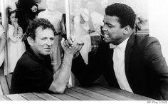 Norman Mailer arm wrestling Muhammad Ali