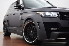 Range Rover HAMANN Mystere modified to the max. What do you think? Click on the link to find out more. #Hamann #spon