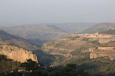 Fortified Templar village in Teruel.