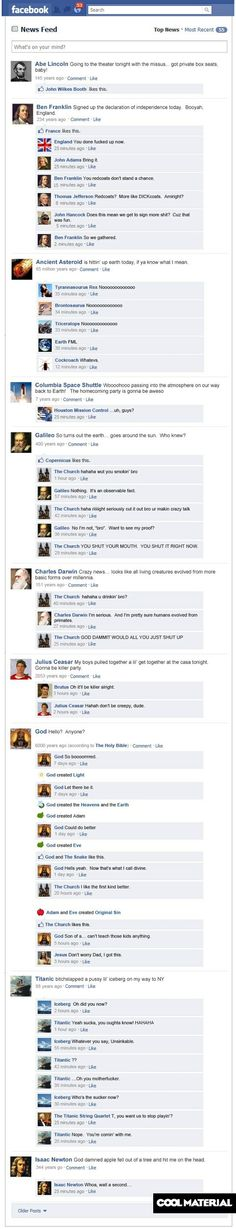 Oh my gosh. This cracks me up.              Sorry don't like Pinning these long ones, but this is funny.
