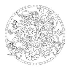 Choose from 60 top Coloriage Zen stock illustrations from iStock. Find high-quality royalty-free vector images that you won't find anywhere else. Free Adult Coloring Pages, Pattern Coloring Pages, Cat Coloring Page, Flower Coloring Pages, Free Printable Coloring Pages, Coloring Books, Pattern Wall, Mandala Pattern, Floral Embroidery Patterns