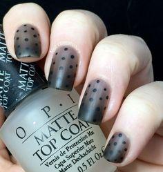 Black Out (via Bloglovin.com ) #FunNailArt