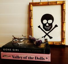 Gwinky Skull IV by libertypost on Etsy