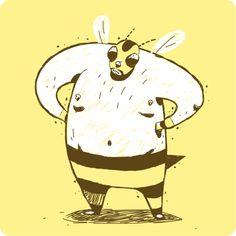 Albert Marcet #threefivefifty #09 #sticker #3550 #design #ilustration #yellow #brown #street #art #barcelona #popstar #ra Pikachu, Street Art, Barcelona, Stickers, Yellow, Brown, Anime, Poster, Fictional Characters