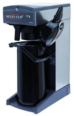 Kaffeemaschine Multi Cup, der Mengenbrüher