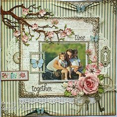 New! Page Kit & Video Tutorial {The Scrapbook Diaries} | Such a pretty mess | Bloglovin