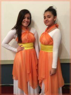 Easter Danza Cristiana Templo Emanuel Devora Ruano Praise Dance Wear, Worship Dance, Garment Of Praise, Dance Uniforms, Dance Outfits, Dance Costumes, Dancing, Ballet, Formal Dresses