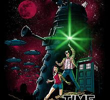 Two great sci-fi universes collide on the Doctor Who Time Wars T-Shirt, featuring an iconic Star Wars image with a Whovian twist. The Jedi can kick back and Funny Tee Shirts, T Shirt, Geek Shirts, Doctor Who Art, Dalek, Bad Wolf, Time Lords, Geek Out, Matt Smith